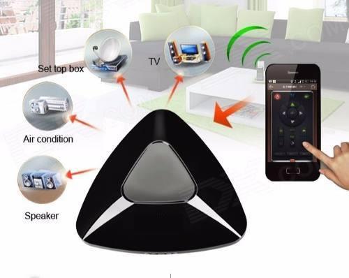 Control de tv, aire acondicionado, garaje eléctrico, desde el celular.