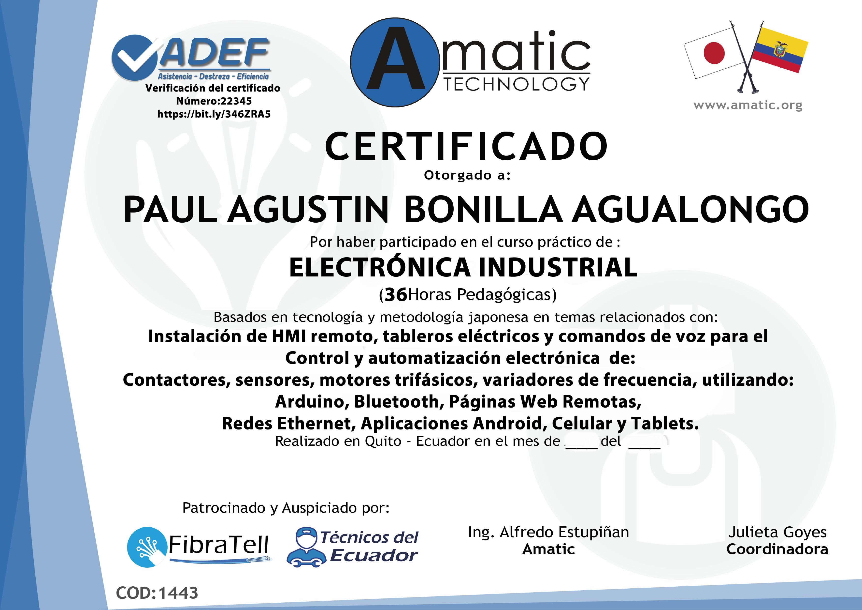 electrónica industrial