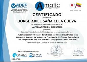 CertificadoAutomatizacion